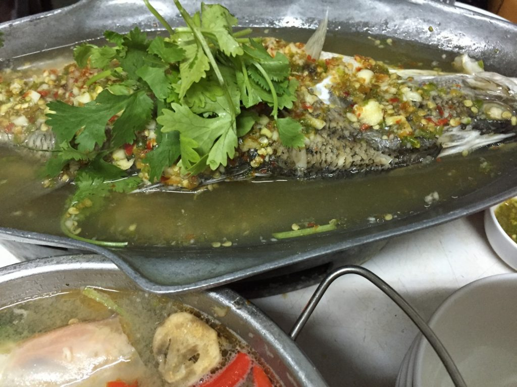 steam fish with lime